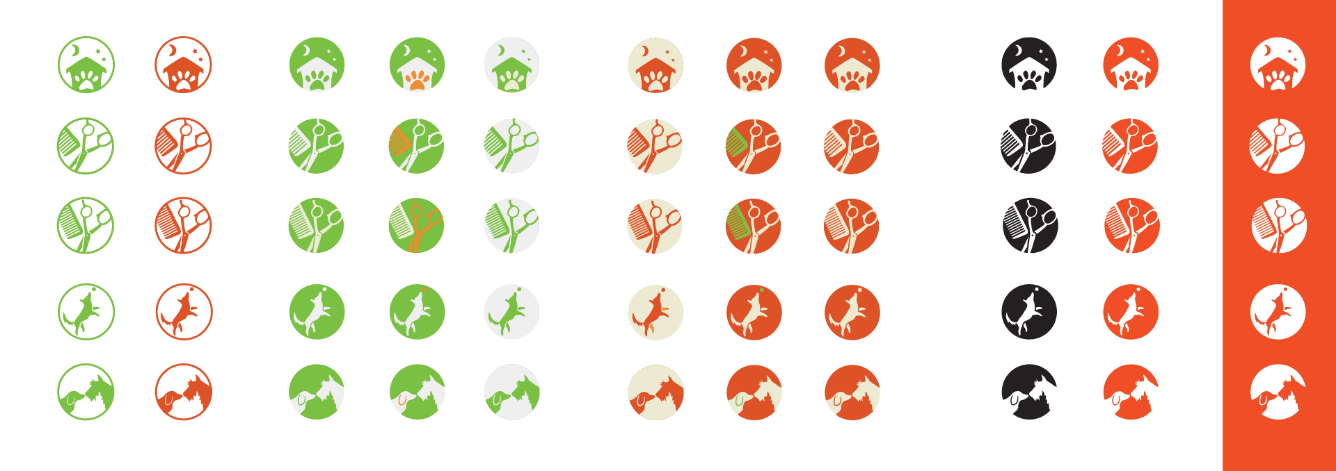 DogCity icon sheet
